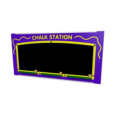 Giant Chalk Station Play Panel