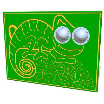 Bug Eyes Chameleon Play Panel
