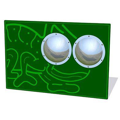 Zoom Bug Eyes Chameleon Play Panel