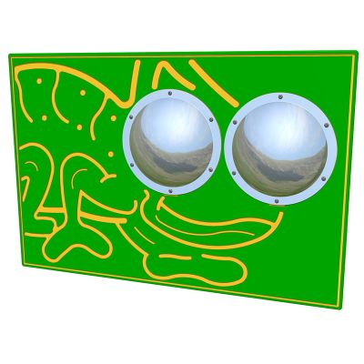 Zoom Bug Eyes Chameleon Play Panel
