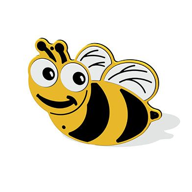 Mini Beast Bee Plaque
