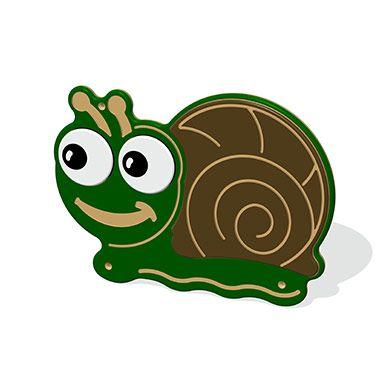 Mini Beast Snail Plaque