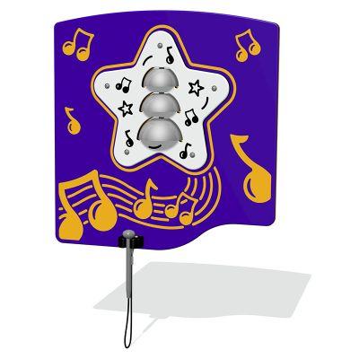Bells Musical Play Panel