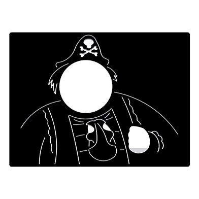 Pirate Head Through Play Panel