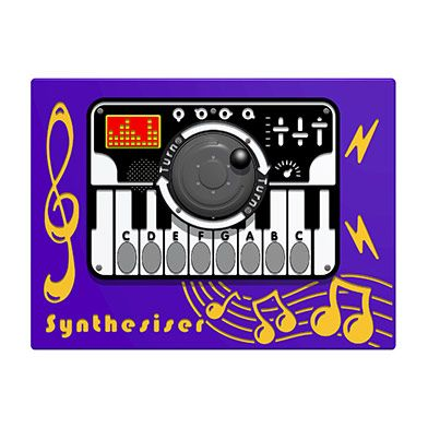 RotoGen PlayTronic Synthesiser Musical Play Panel