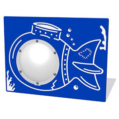 Underwater Sub Play Panel with Clear Dome