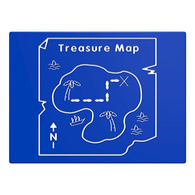 Treasure Map Play Panel