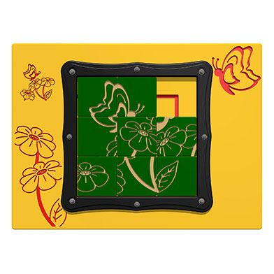 Tile Slide Butterfly Play Panel