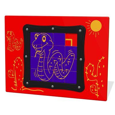Tile Slide Snake Play Panel