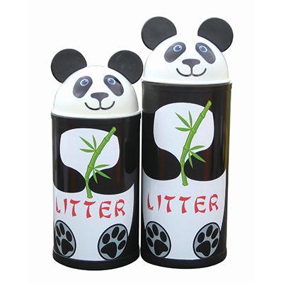 Large Panda Litter Bin