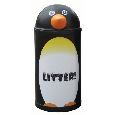 Small Penguin Litter Bin