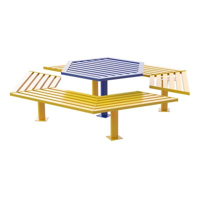Steel Buddy Bench