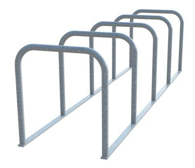 Sheffield Cycle Toast Rack - 5 Hoop (Galvanised)