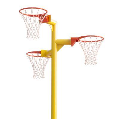 Triple Netball Post