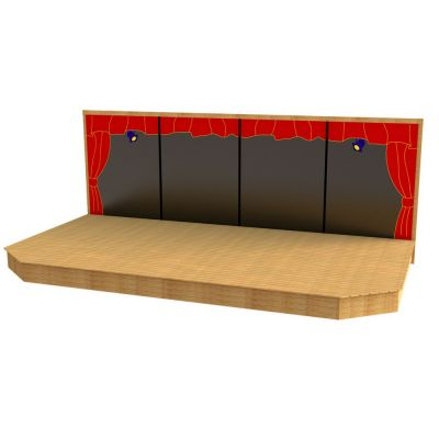 6m Timber Stage