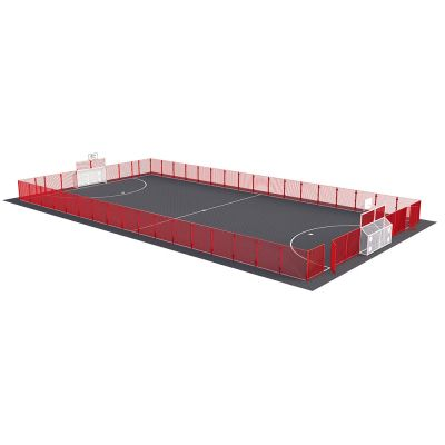 Secondary MUGA - Full Height Goal & High Fencing