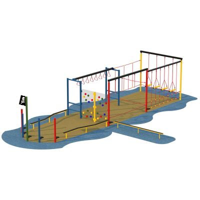 Pirate Ship Activity Trail