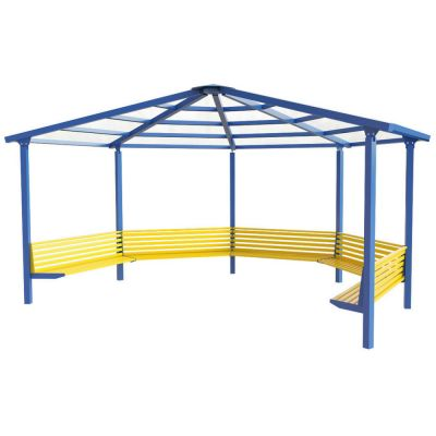 5 Sided Shelter with 5 Seats