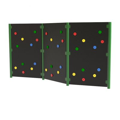 Solid Traverse Wall (3 Panels)