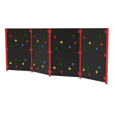 Solid Traverse Wall (4 Panels)