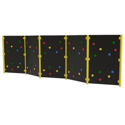 Solid Traverse Wall (5 Panels)