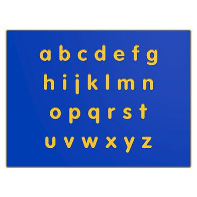 Alphabet Lower Case Play Panel