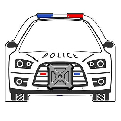 PlayTronic Police Car Panel