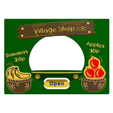 Village Shop Play Panel