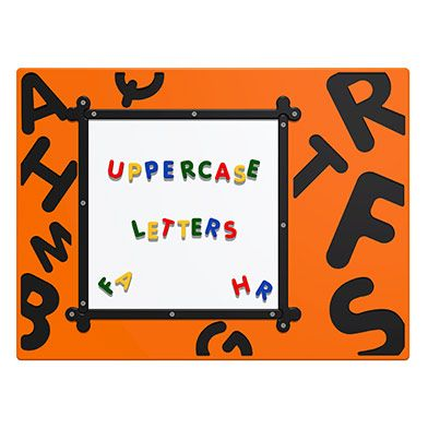MagPlay Panel - Uppercase Letters