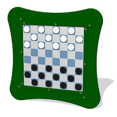 MagPlay Wall Panel - Draughts