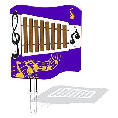 Hardwood Xylophone Musical Play Panel
