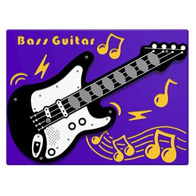 PlayTronic Bass Guitar Musical Play Panel