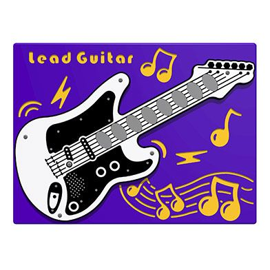 PlayTronic Lead Guitar Musical Play Panel