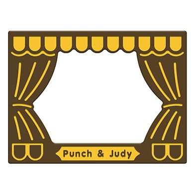 Punch and Judy Theatre Play Panel
