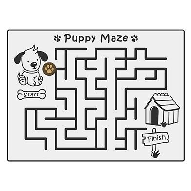 Puppy Maze Play Panel