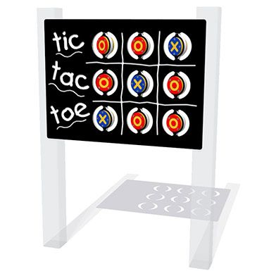 Tic Tac Toe Play Panel