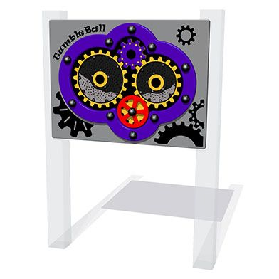 Tumble Ball Cog Play Panel