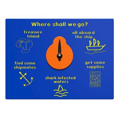 Where Shall We Go Play Panel - Pirates