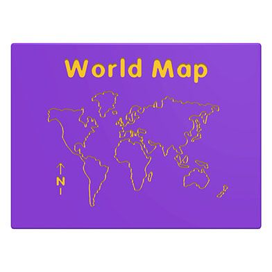 World Map Play Panel