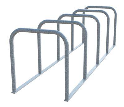 Sheffield Cycle Toast Rack - 5 Hoop (Galvanised)