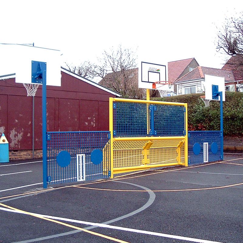 KS2 Junior Goal Unit 227 (3 x Basketball)