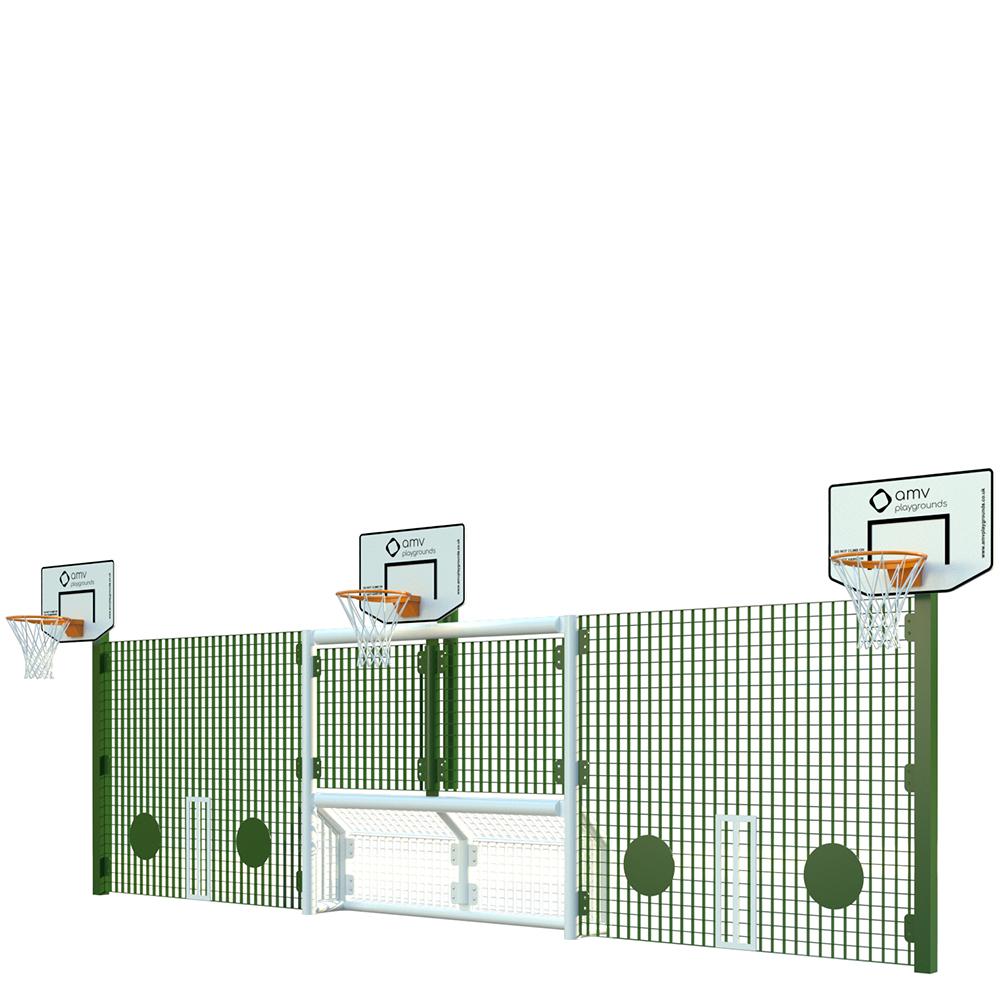 KS1 Infant Goal Unit 227 (3 x Basketball)