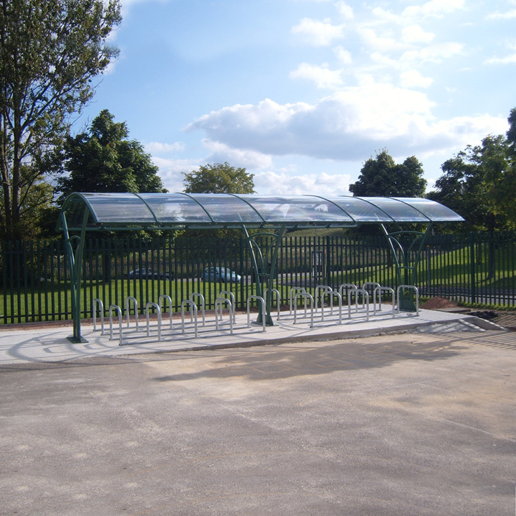 Manchester Cycle Shelter