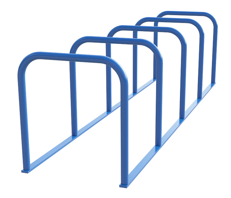 Sheffield Cycle Toast Rack - 5 Hoop (Powder Coated)