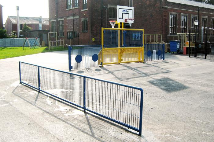 School Playground Development in Summer Holidays