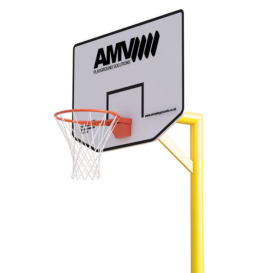 2m Basketball Post