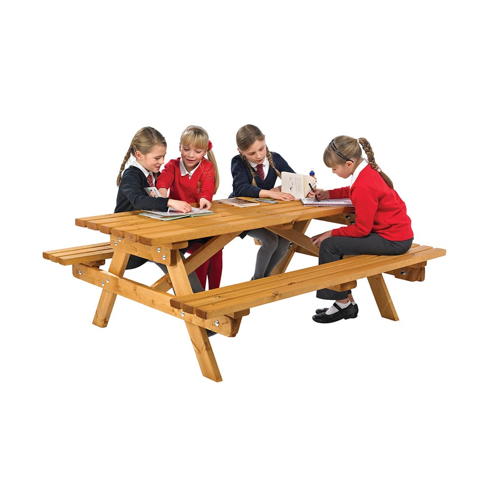 6 Seater Cotswold Junior Picnic Bench
