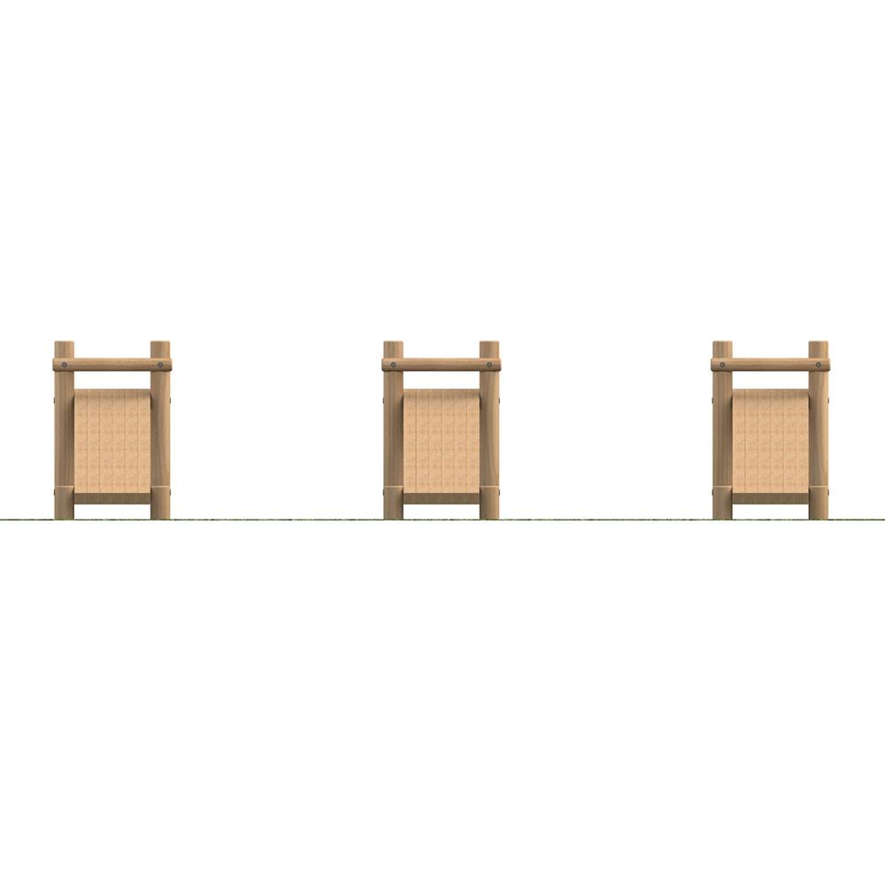 Inclined Leg Raise (Set of 3)
