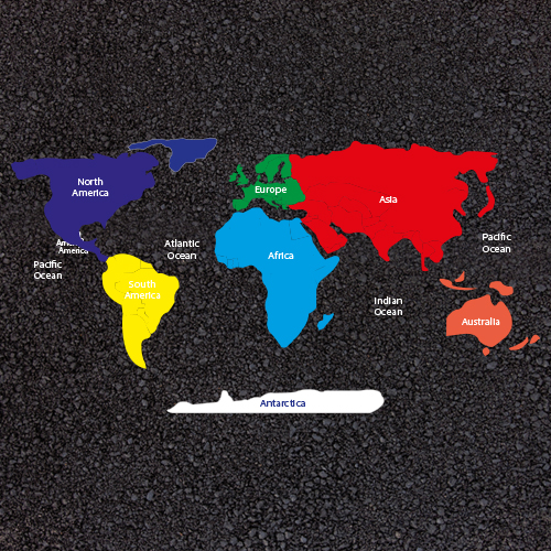 Large world map with continents playground markings large world map with continents gumiabroncs Images