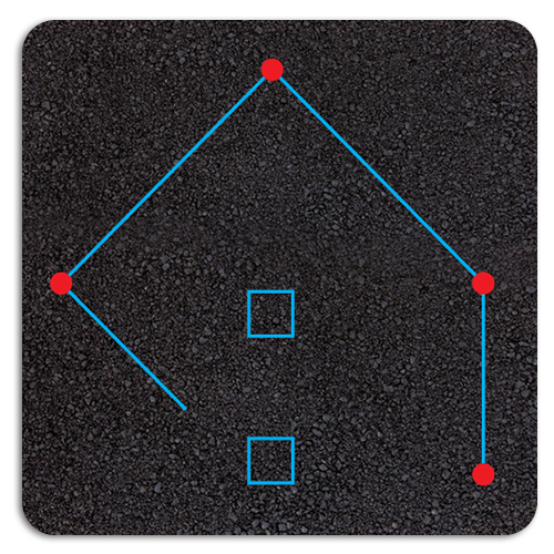 Rounders Pitch Playground Markings